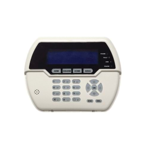 WS-809 WIRELESS LCD KEYPAD
